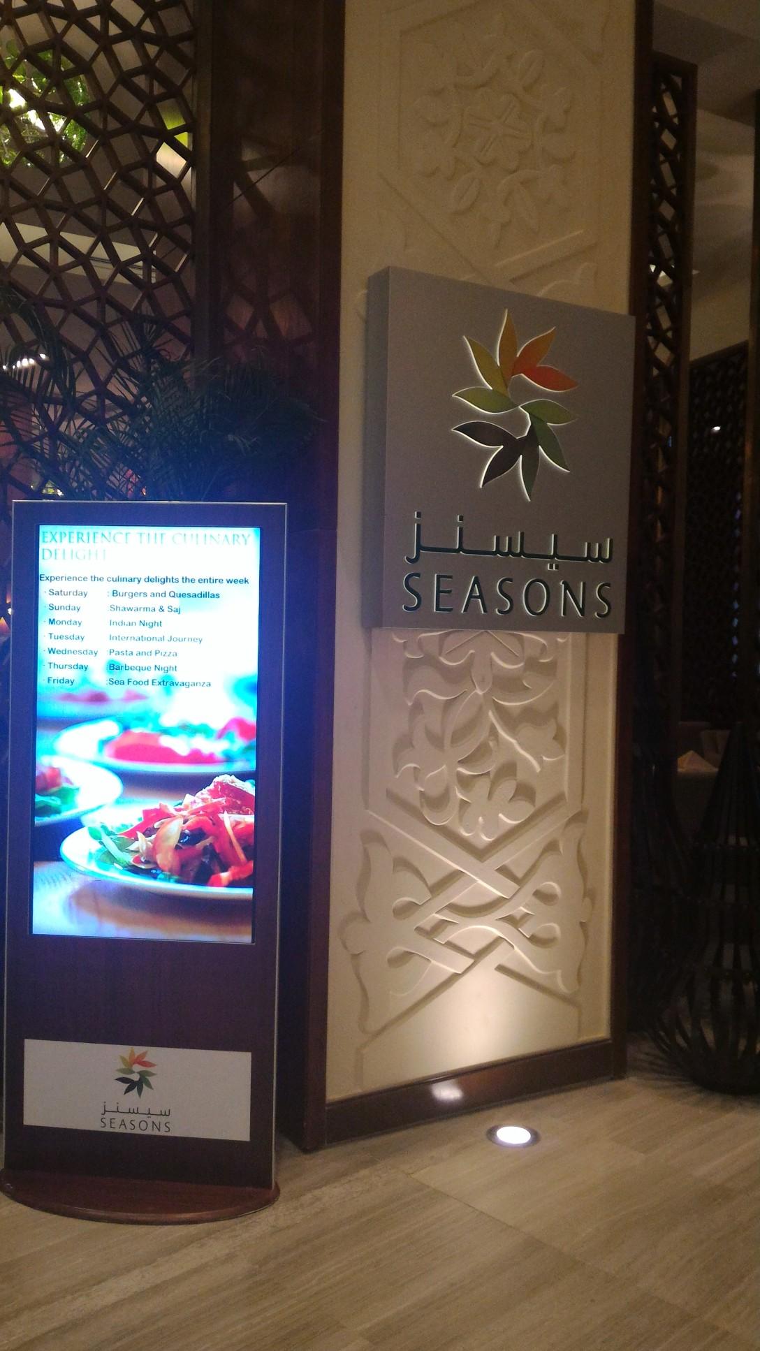 Seasons Restaurant inside Bay La Sun