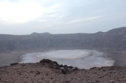 Camping at Wahbah Crater